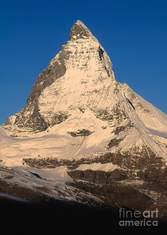 Matterhorn Photograph - Matterhorn by Art Wolfe