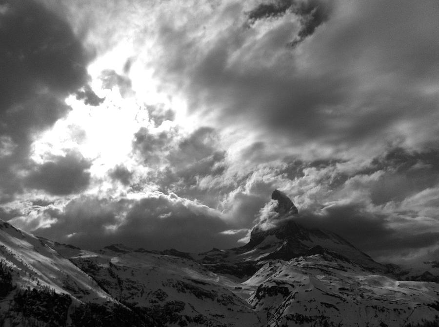 Matterhorn Photograph - Matterhorn Cervino by Pierfrancesco Maria Rovere