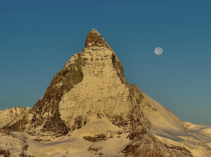 Matterhorn Golden Hour Photograph by Andreas Jones