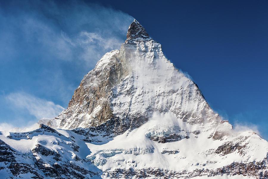 Switzerland Photograph - Matterhorn by Gospodarek Mikolaj