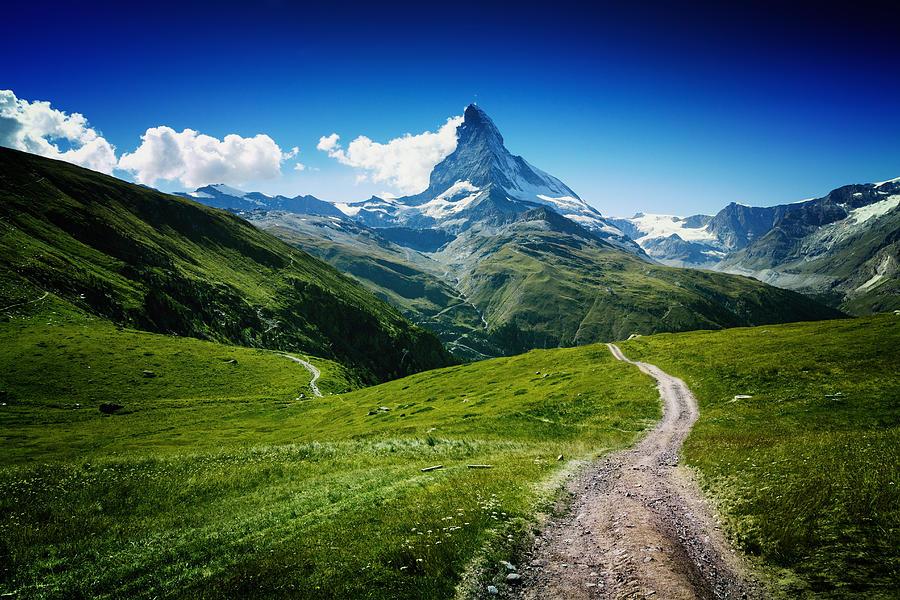 Landscape Photograph - Matterhorn II by Juan Pablo De