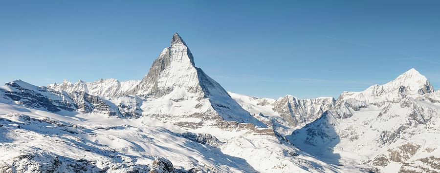 Matterhorn Panorama Photograph by Georgeclerk