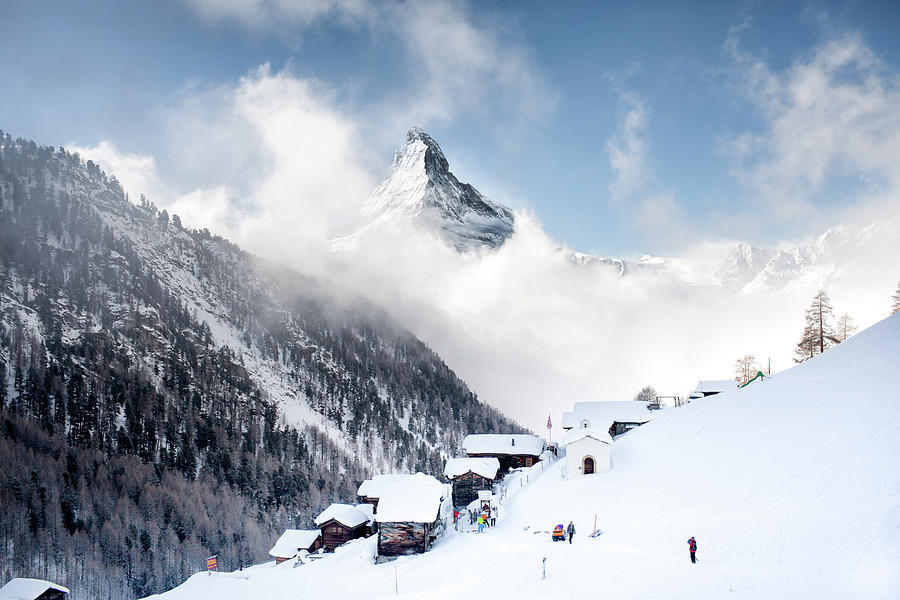 Matterhorn Photograph by Steffen Schnur