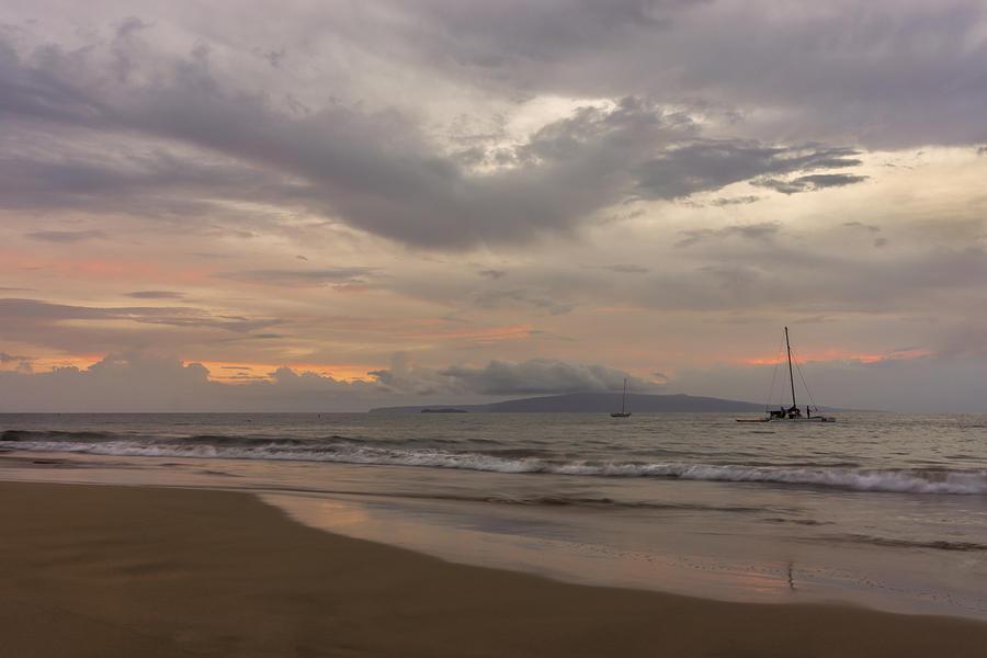 Hawaii Pastel - Maui Beach by Francesco Emanuele Carucci