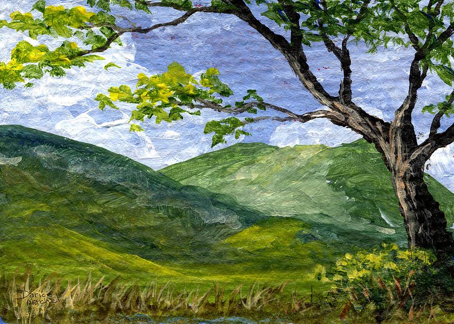 Maui Painting - Maui Landscape by Darice Machel McGuire
