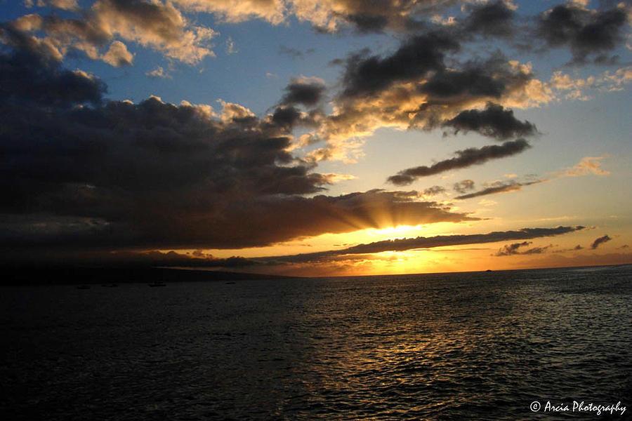 Maui Sunset by Ken Arcia