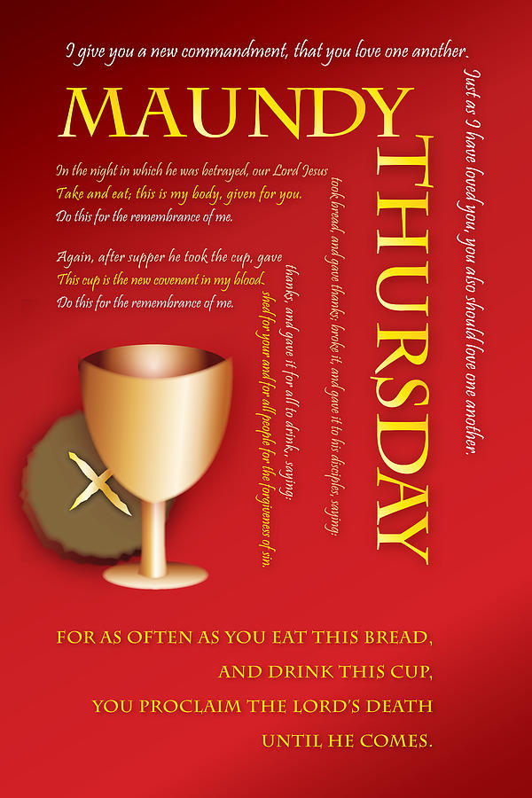 Maundy thursday digital art by chuck mountain communion digital art maundy thursday by chuck mountain m4hsunfo