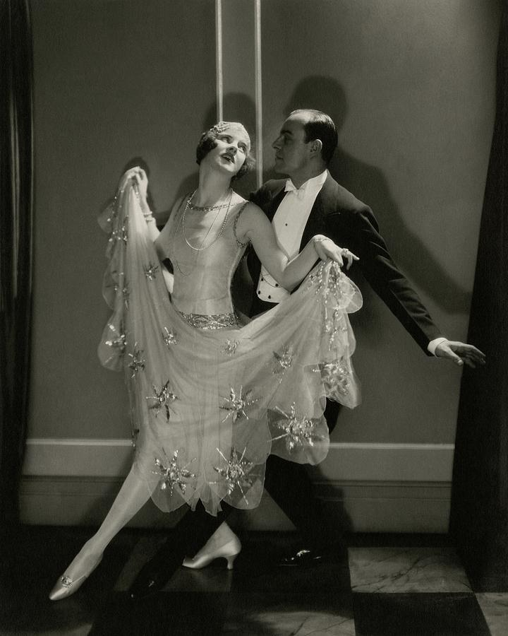 Maurice Mouvet And Leonora Hughes Dancing Photograph by Edward Steichen