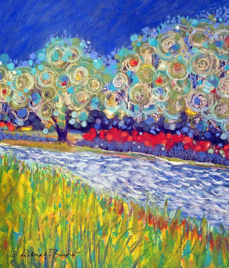 Trees Painting - Maurice River  by Deborah Burow