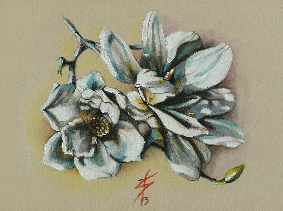 Floral Painting - May Beauty Be With You.. by Alessandra Andrisani