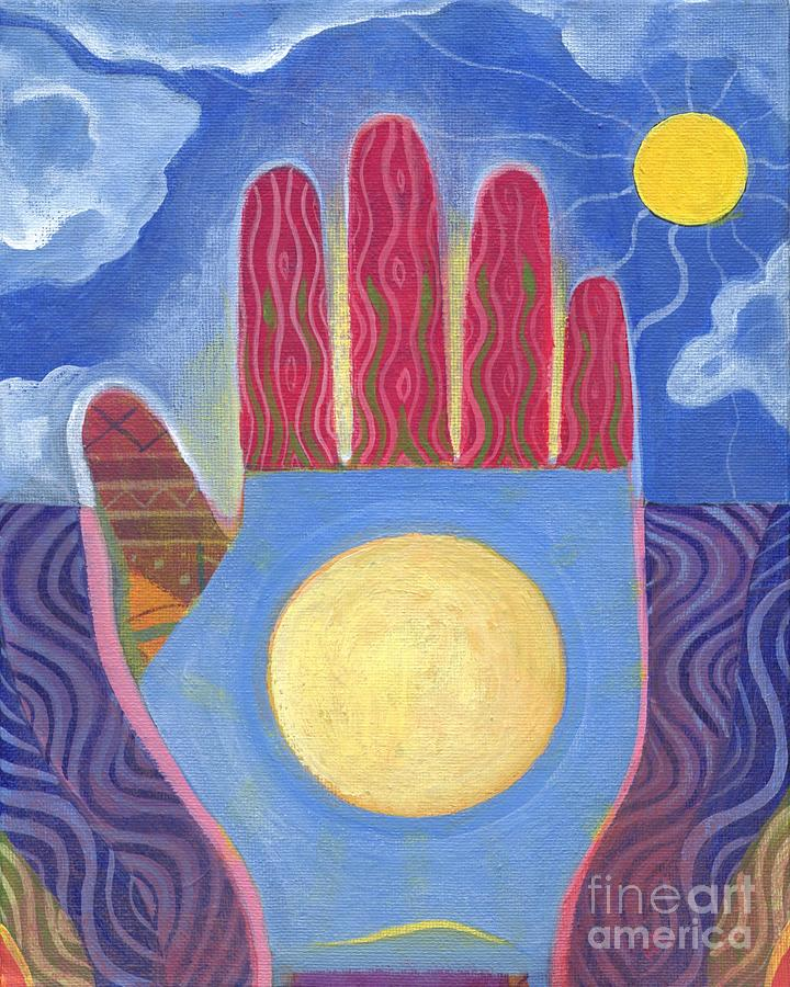 Goodwill Painting - May Peace Prevail by Helena Tiainen