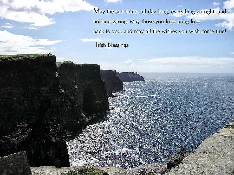 Irish Photograph - May The Sun Shine All Day Long by Bill Cannon