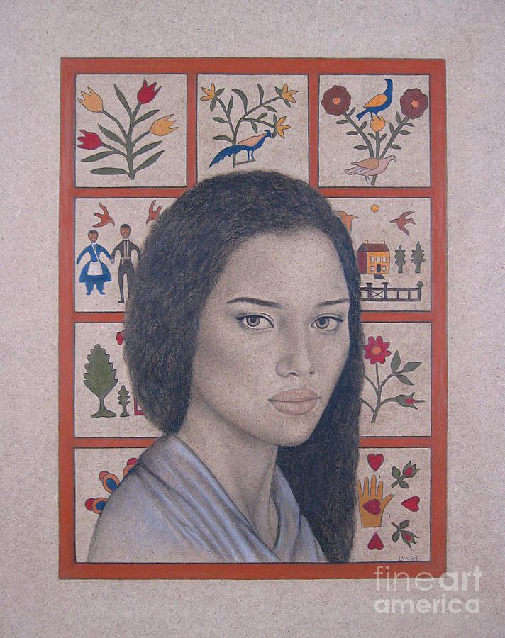 Maya Painting - Maya by Lynet McDonald