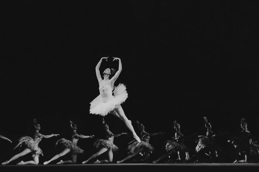Maya Plisetskaya Dancing In The Humpbacked Horse Photograph by Horst P. Horst