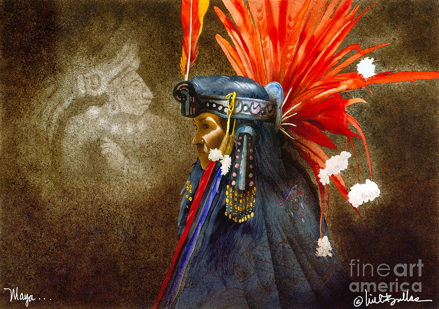 Will Bullas Painting - Maya... by Will Bullas