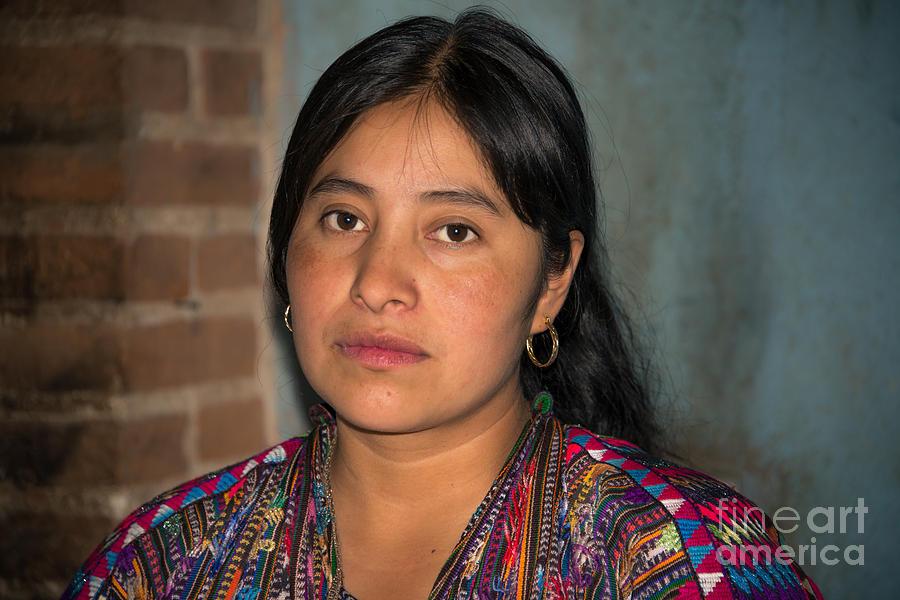 Mayan Girl by Jola Martysz