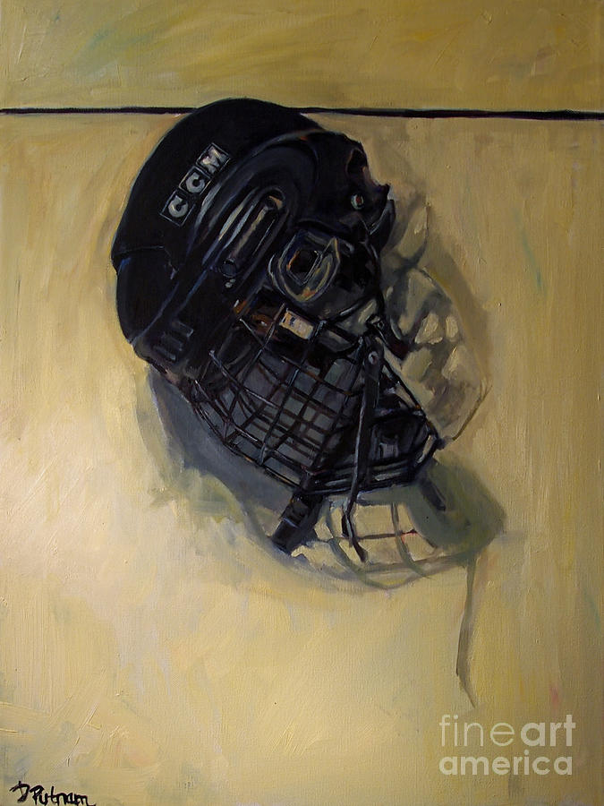 Hockey Painting - Maybe Next Year by Deb Putnam