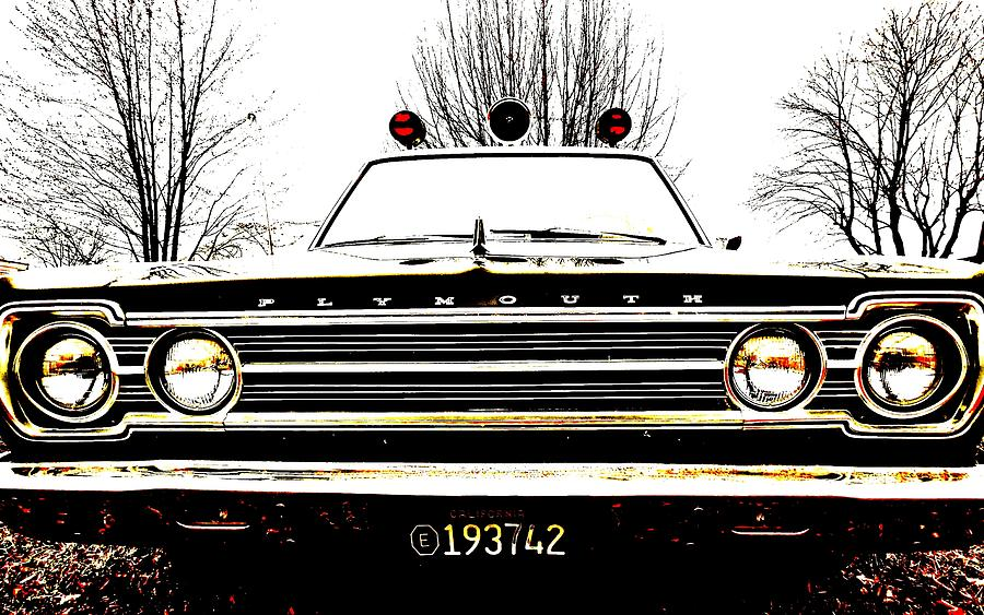 Car Photograph - Mayberry by Sharon Costa