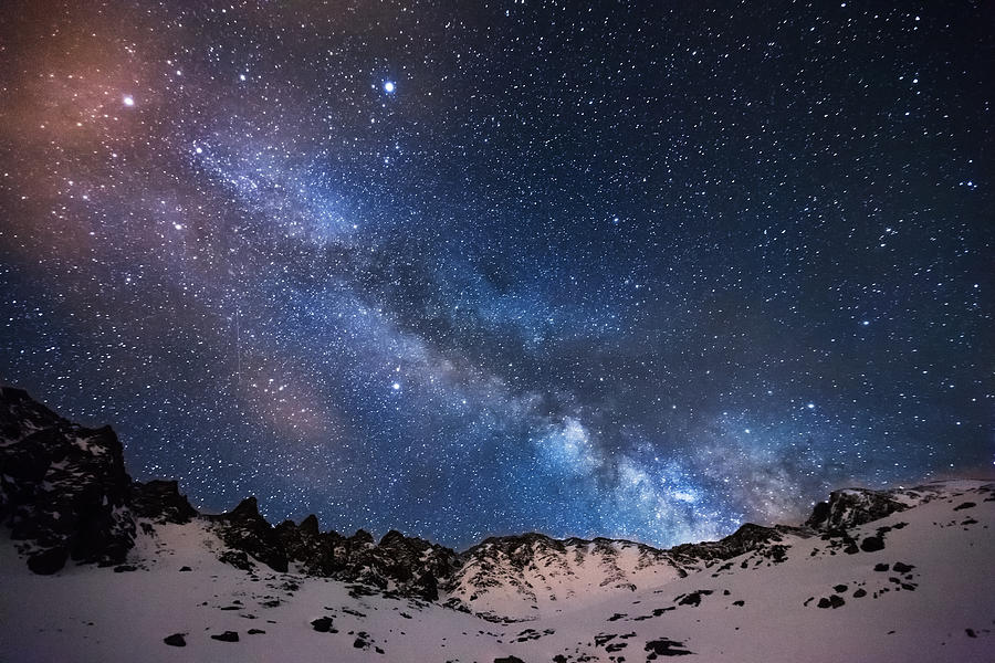 Mayflower Gulch Milky Way Photograph