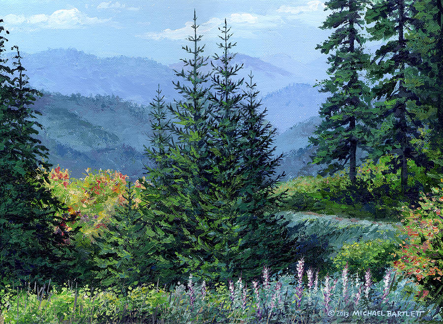 Mccoy Creek Canyon Painting Painting