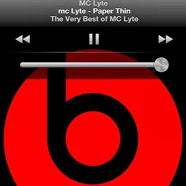 mc lyte paper thin Watch the video for paper thin from mc lyte's the very best of mc lyte for free, and see the artwork, lyrics and similar artists.