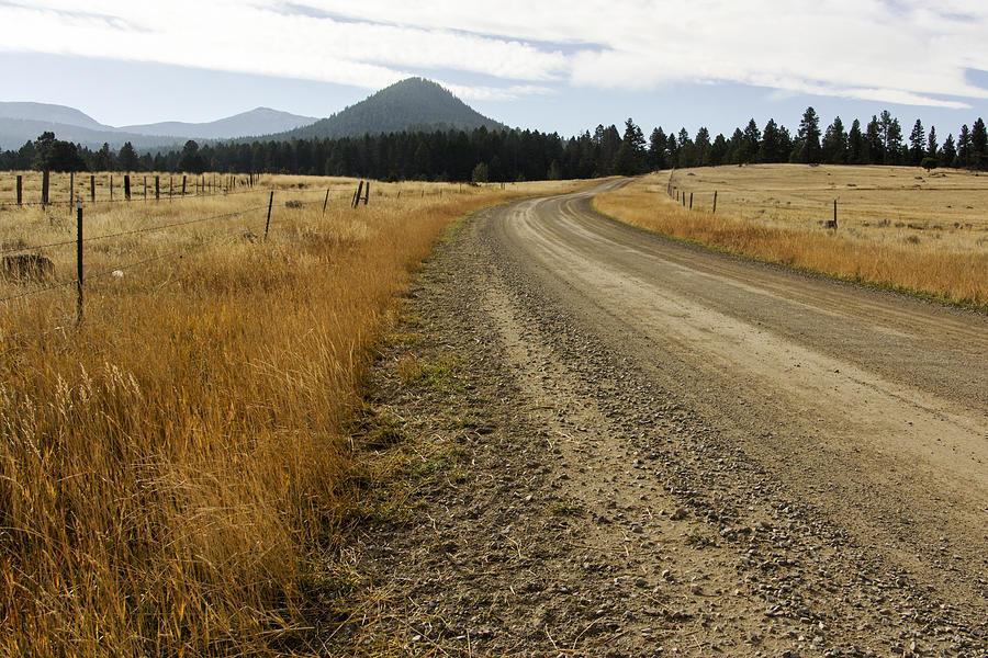 Landscape Photograph - Mcclellan Creek Rd Helena Montana by Dana Moyer