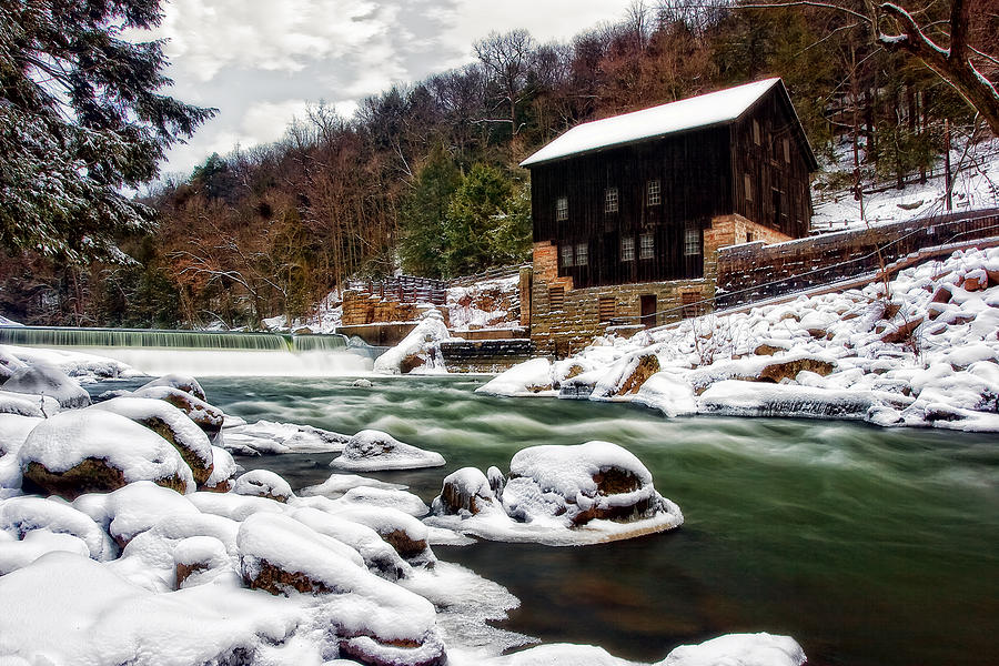 Landscape Photograph - Mcconnells Mill by Marcia Colelli