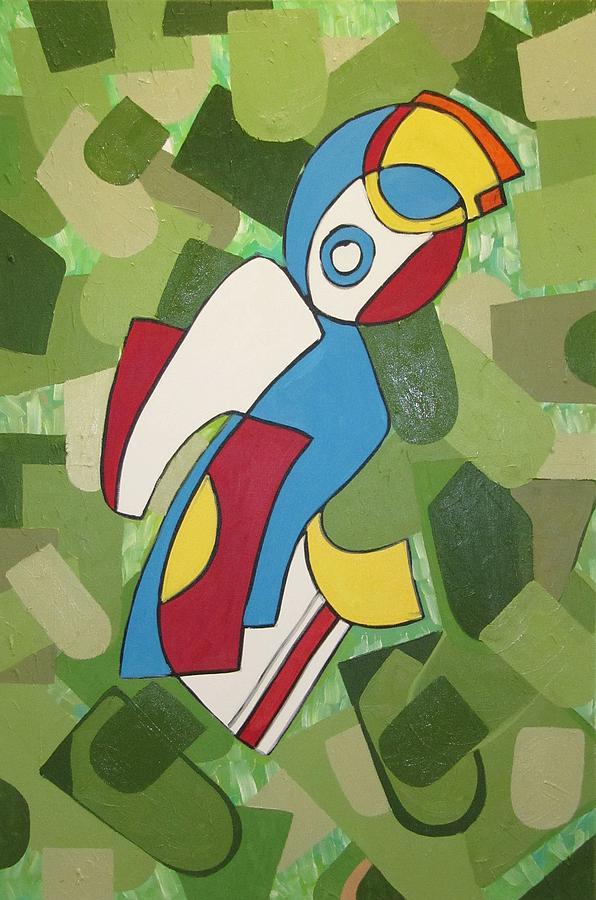 Mccoy Painting by Daniel Burtea