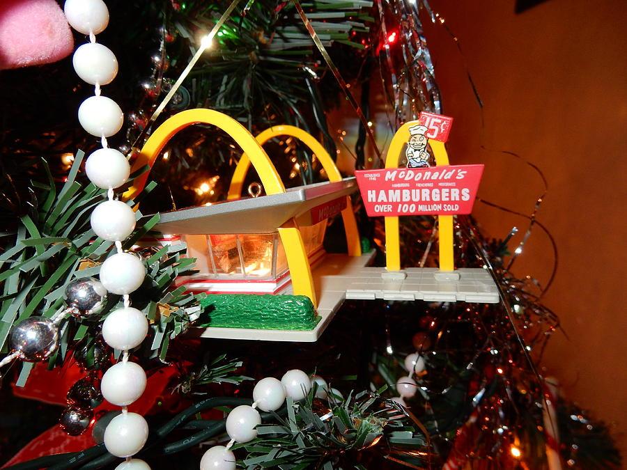 Mcdonalds Christmas Ornament.Mcdonalds Ornament By Betty Anne Mcdonald