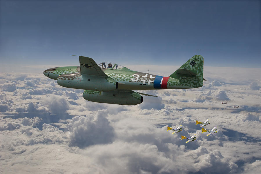 Me 262 Stormbird Photograph By Pat Speirs