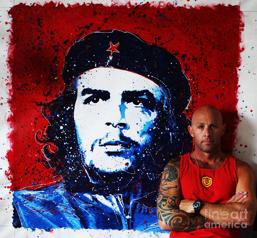 Guevara Photograph - Me And Che by Chris Mackie