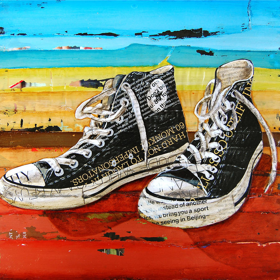 Converse Mixed Media - Meaningful Convere-ations by Danny Phillips