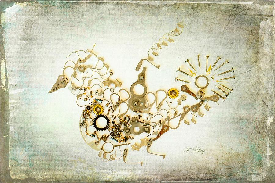 Bird Photograph - Mechanical - Bird by Fran Riley
