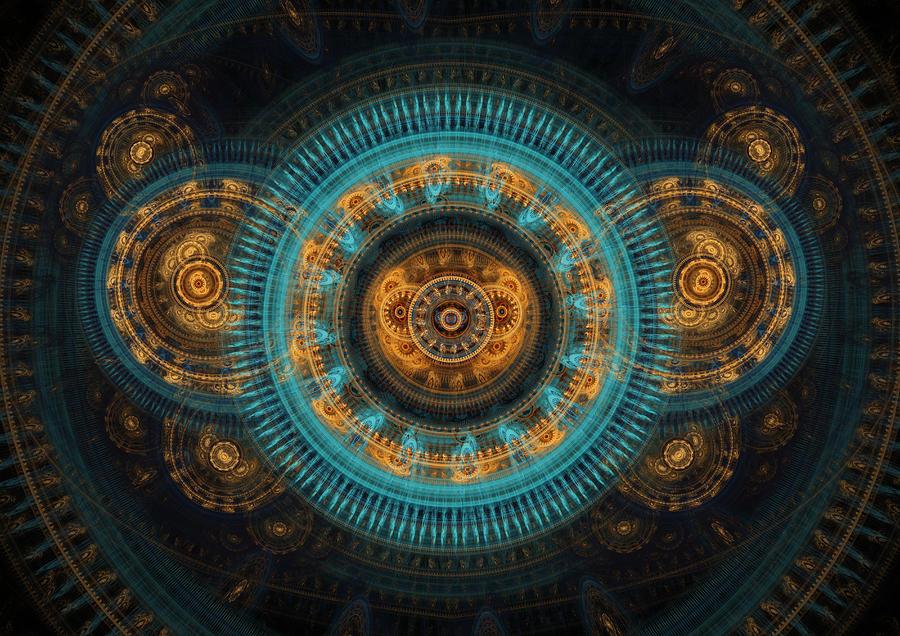 Mechanical Butterfly Digital Art