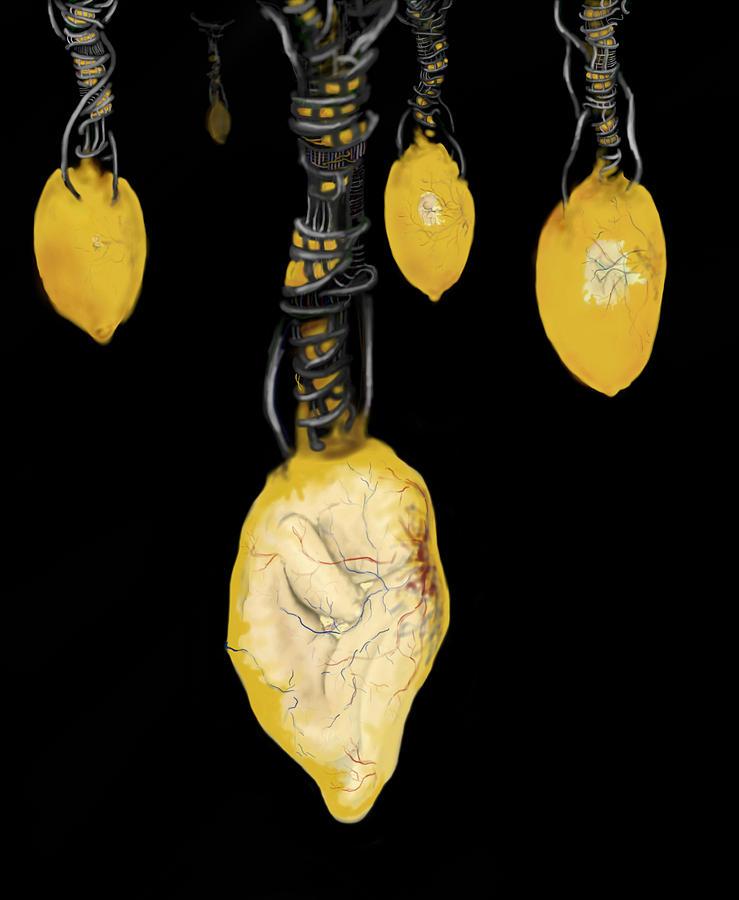Embryo Digital Art - Mechanical Gestation by Corina Bishop
