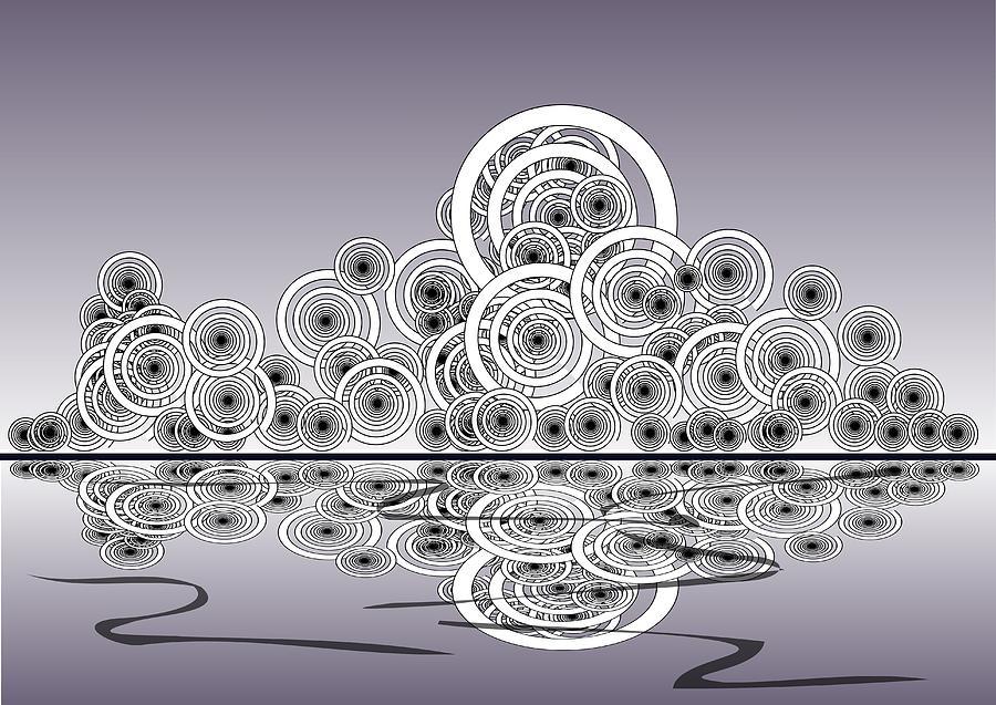 Reflection Digital Art - Mechanical Spirits by Anastasiya Malakhova