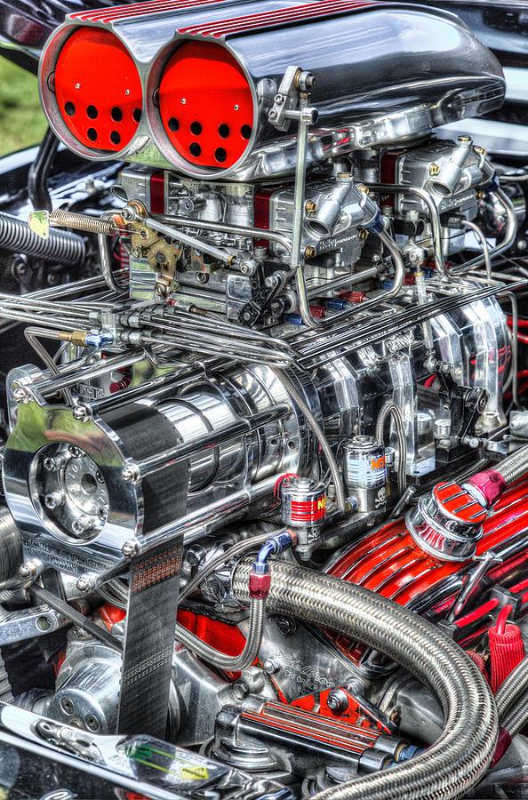 Engine Photograph - Mechanics by Bill Wakeley