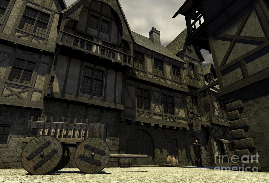 Mediaeval Or Fantasy Town - 1
