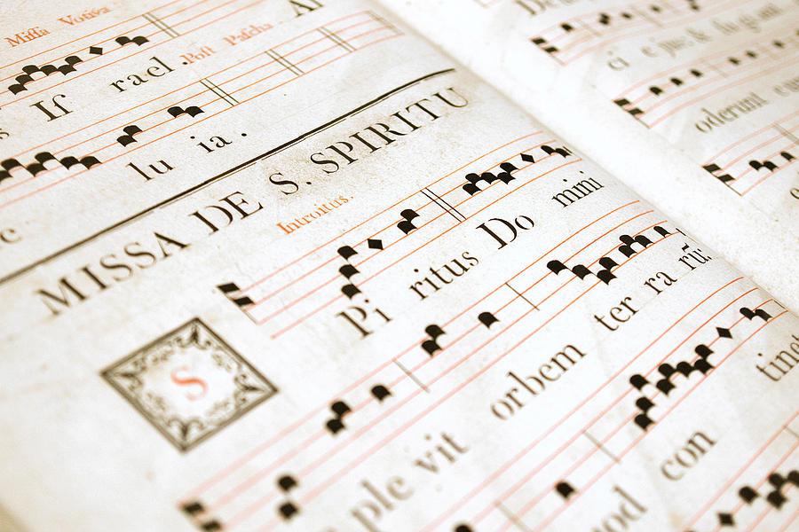 Medieval Photograph - Mediavel Chorus Book  by Fabrizio Troiani