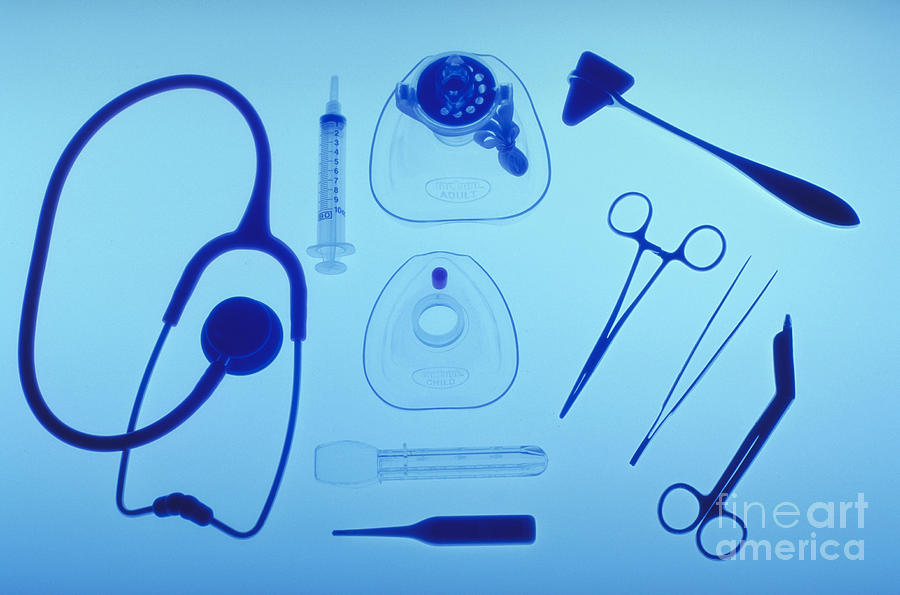 Health Photograph - Medical Equipment by Blair Seitz