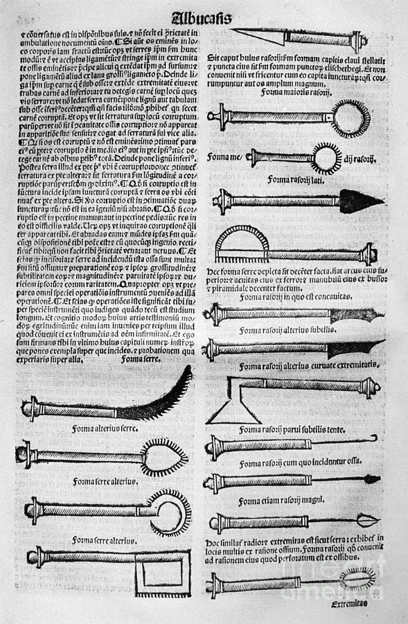 10th Century Photograph - Medical Instruments, 1531 by Granger