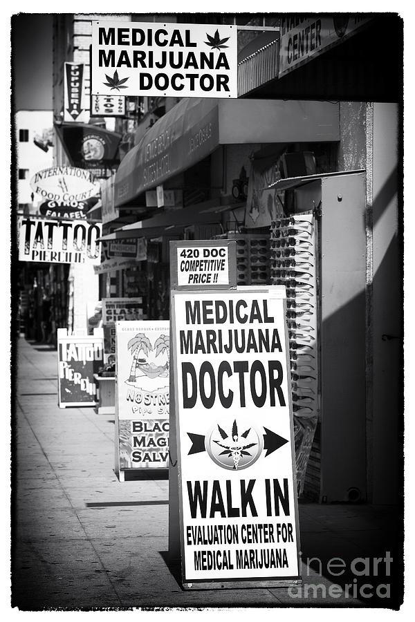 Medical Marijuana Doctor Photograph - Medical Marijuana Doctor by John Rizzuto