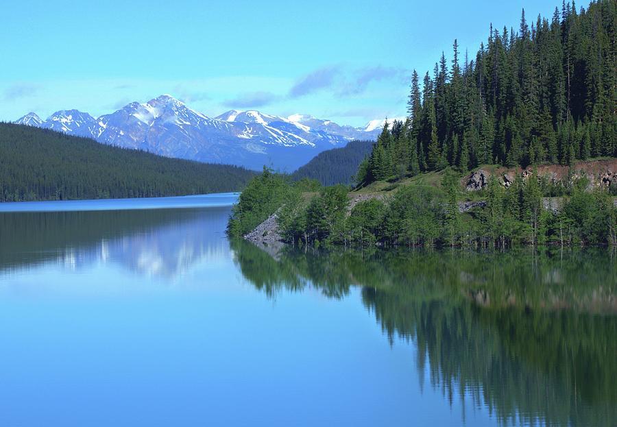 Medicine Lake. Jasper, Alberta Photograph by Cole Orthner