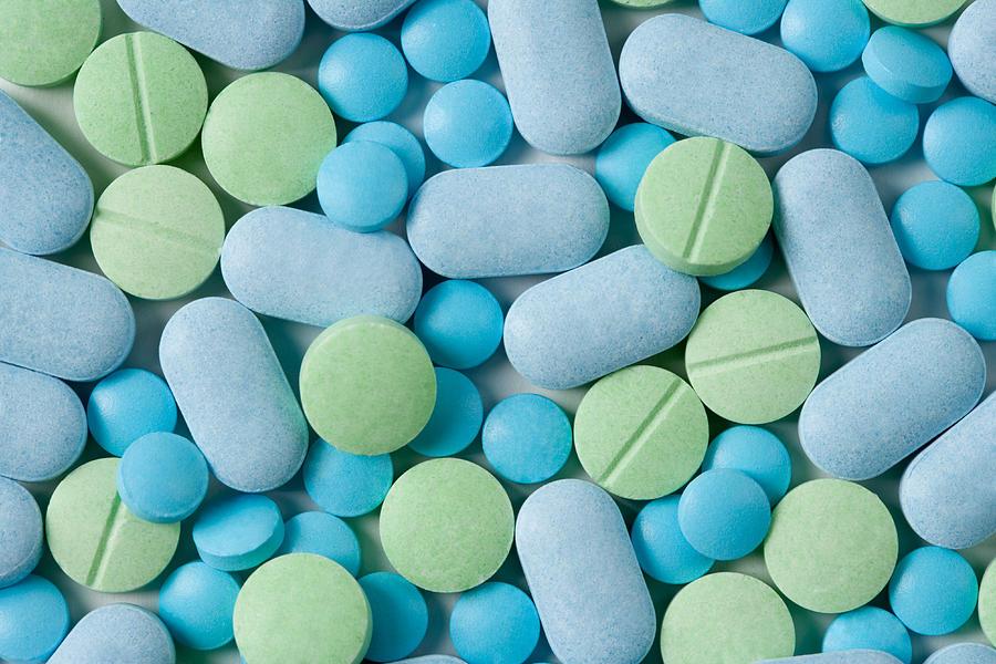 Medicine Pills Photograph by ShutterWorx