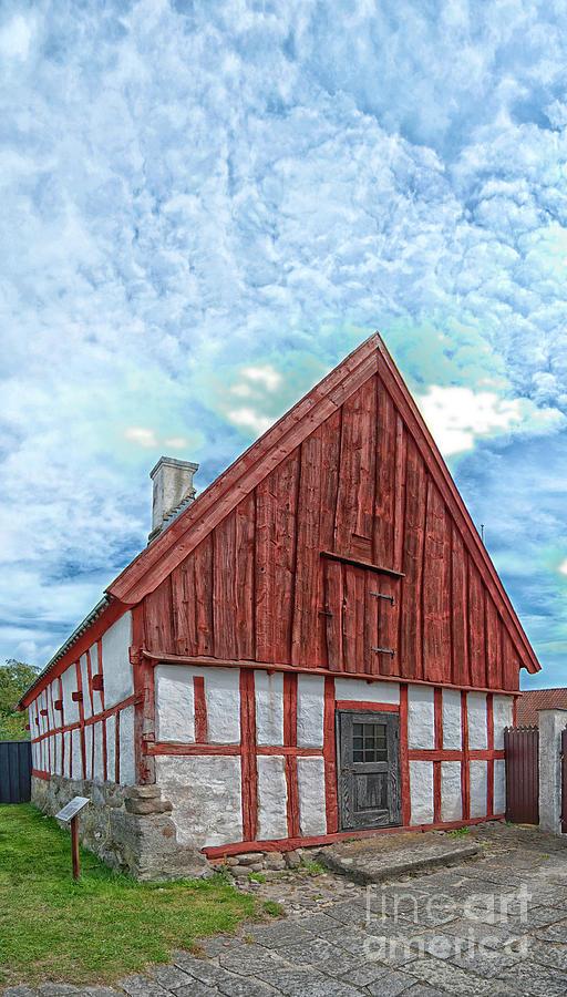Ahus Photograph - Medieval Building by Antony McAulay
