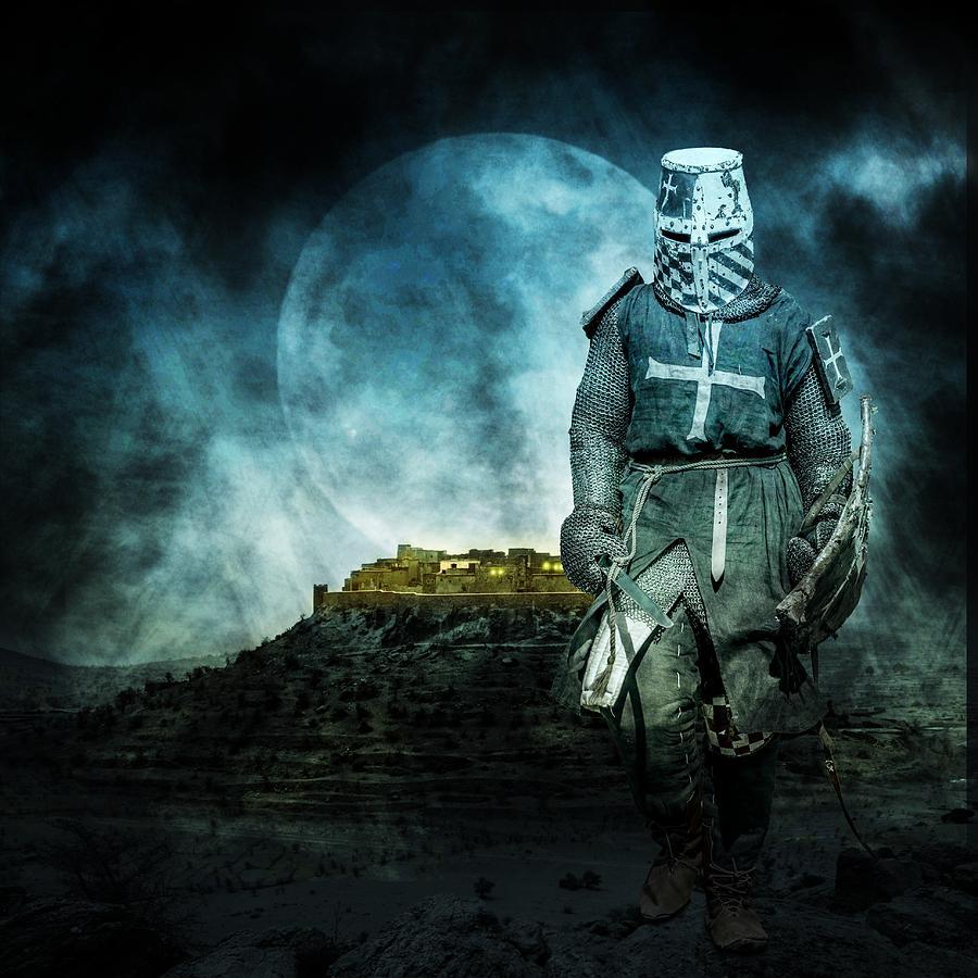 Ages Photograph - Medieval Crusader by Jaroslaw Grudzinski