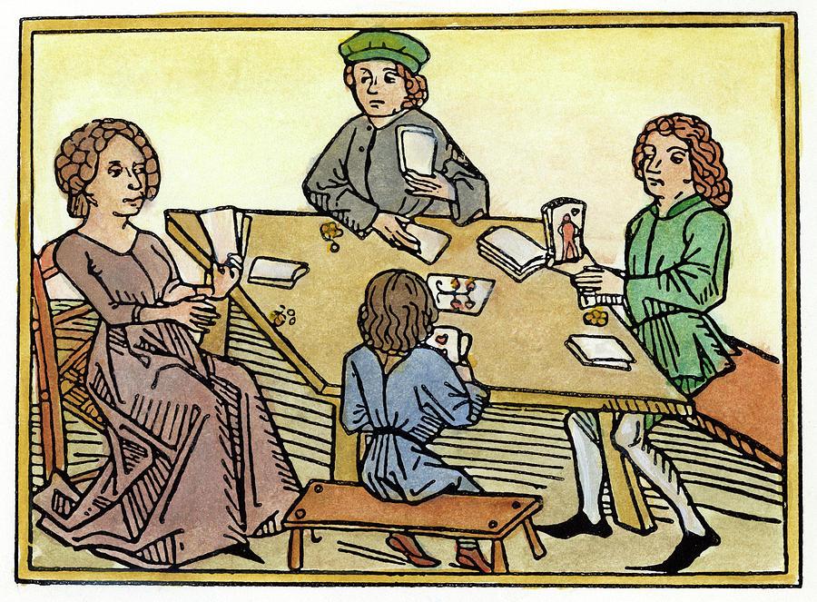 Medieval Gambler