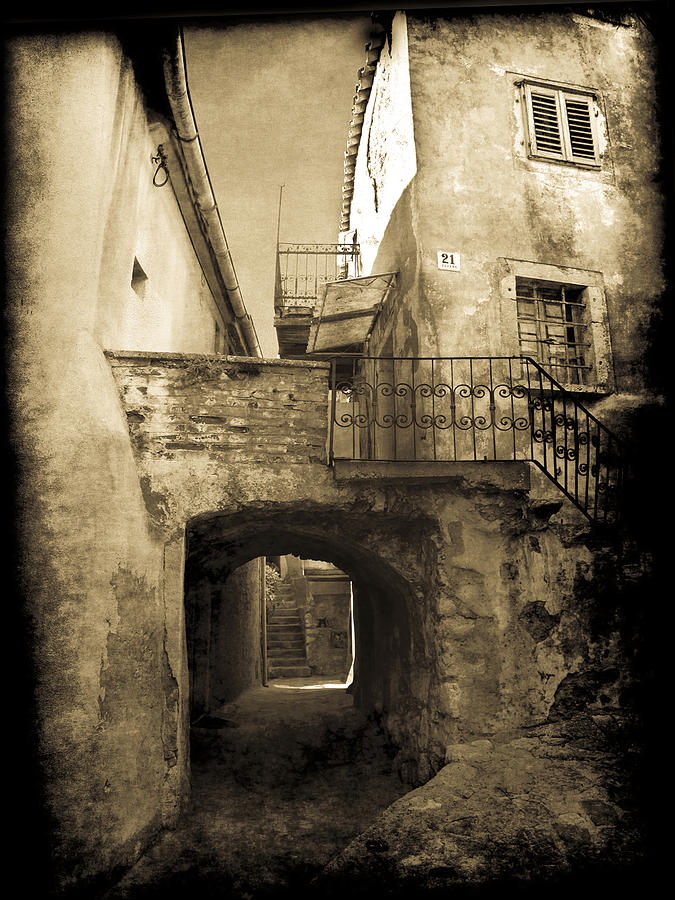Pictorial Photograph - Medieval Croatia by Jennifer Wright