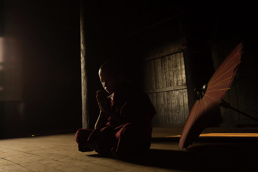 Zen Photograph - Meditation by Gunarto Song