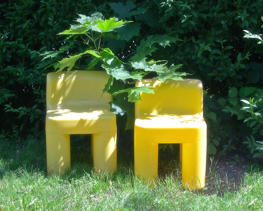 Chairs Photograph - Meditation In Sunlight 34 by The Art of Marsha Charlebois